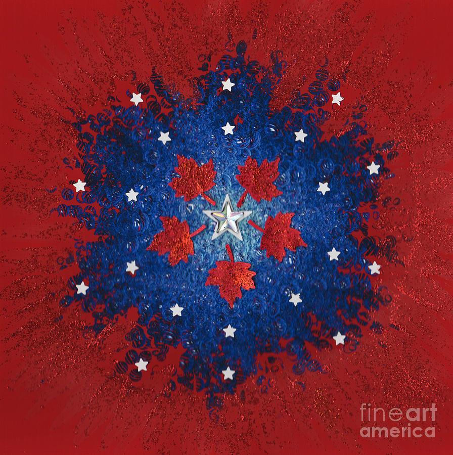 Jrr Mixed Media - Dual Citizenship 2 by First Star Art
