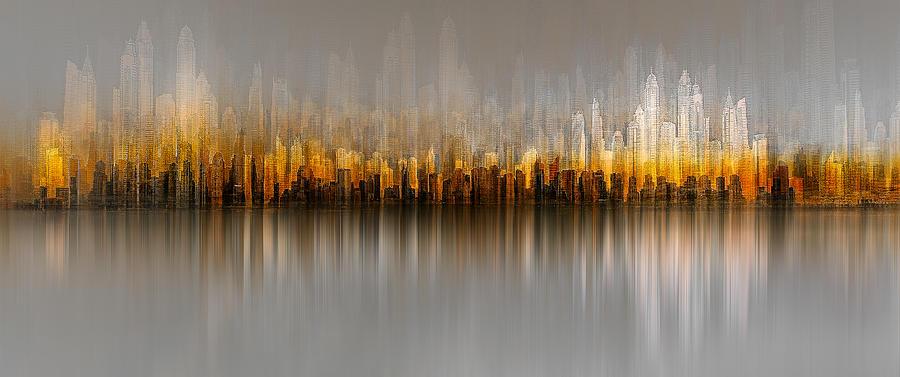 Dubai Photograph - Dubai Skyline by Carmine Chiriac?