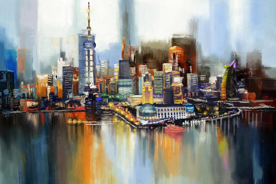 How To Paint A Cityscape On A Wall