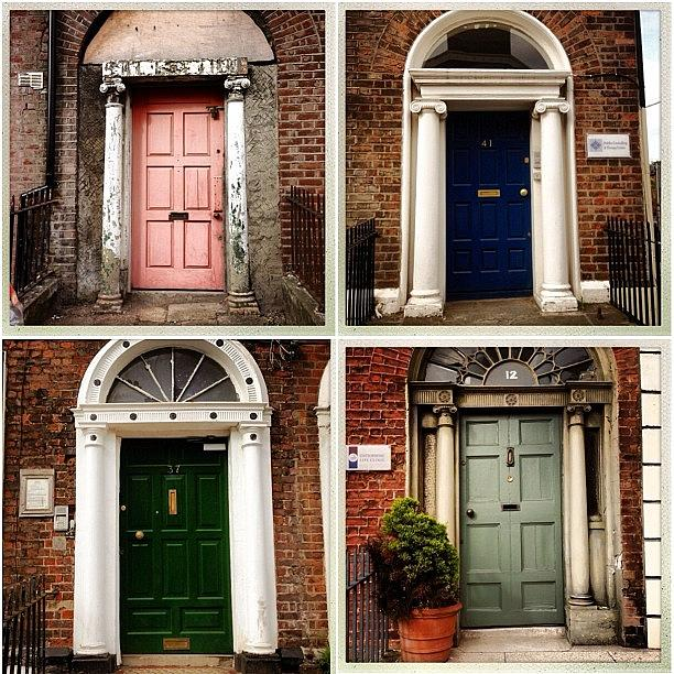 Irish Photograph - Dublin Doors. #dublin #city #doors by Luis Aviles & Dublin Doors. #dublin #city #doors Photograph by Luis Aviles