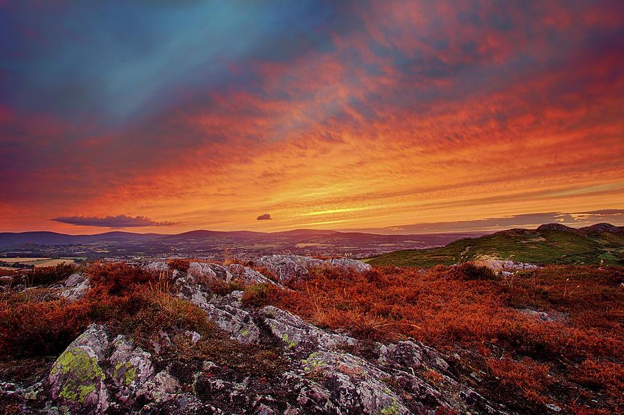 Dublin On Fire Photograph by Sigita Playdon Photography