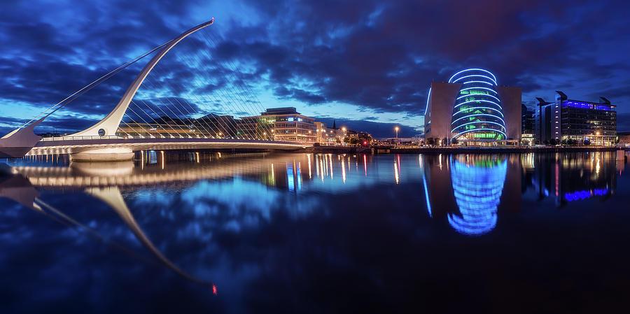 Ireland Photograph - Dublin - Samuel Beckett Bridge by Jean Claude Castor