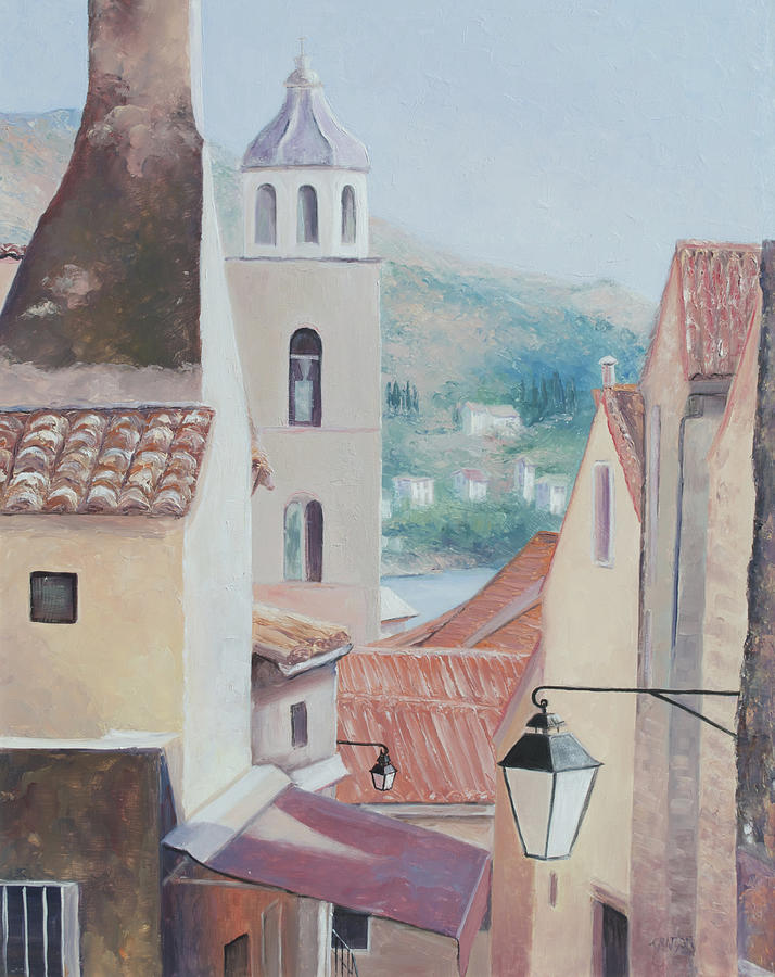Dubrovnik Painting - Dubrovnik Croatia by Jan Matson