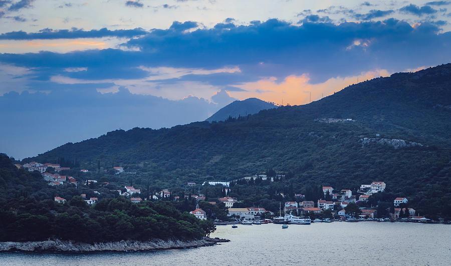 Matti Ollikainen Photograph - Dubrovnik Sunset II by Matti Ollikainen