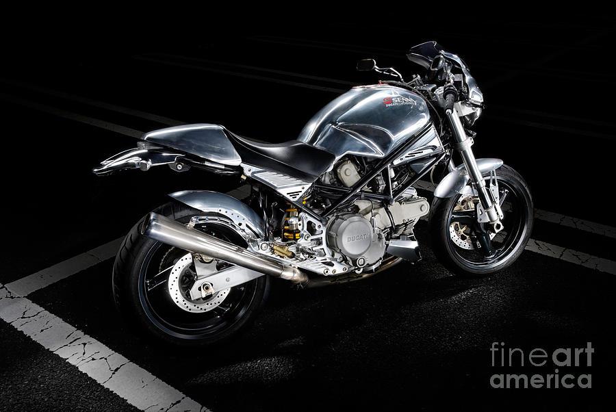 Ducati Metal Wall Art