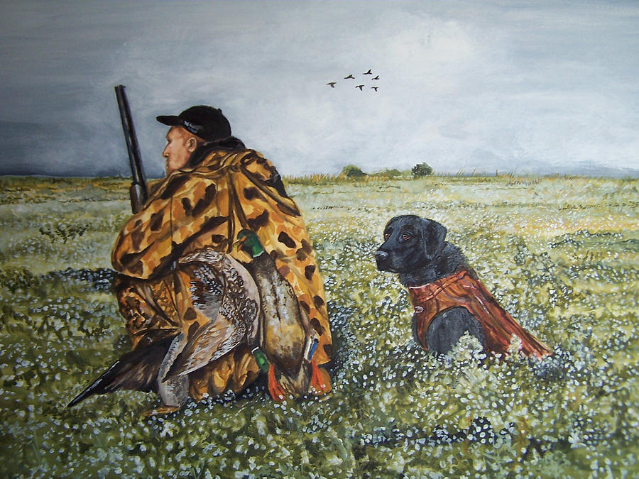 Duck Hunters by Kathy Laughlin