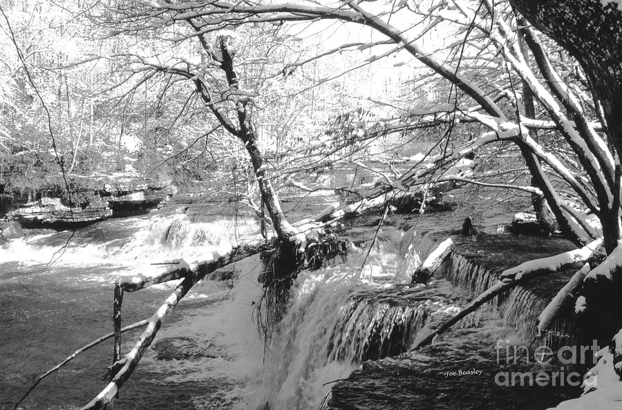 Falls Photograph - Duck River At Old Stone Fort by   Joe Beasley