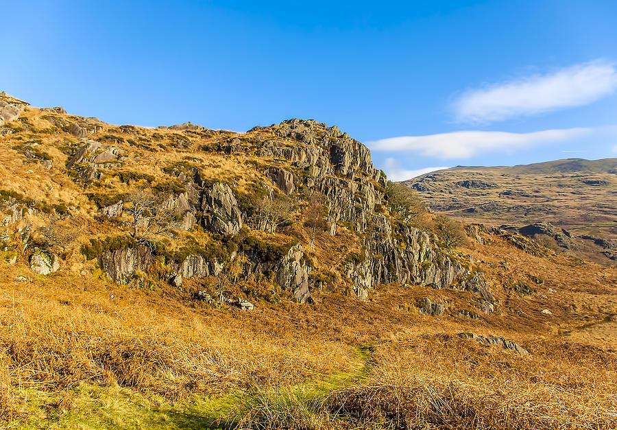 Valley Photograph - Duddon Valley Lake District by Trevor Kersley