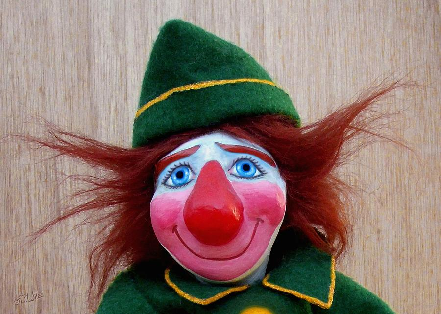 Clown Sculpture - Dudley 2 by David Wiles