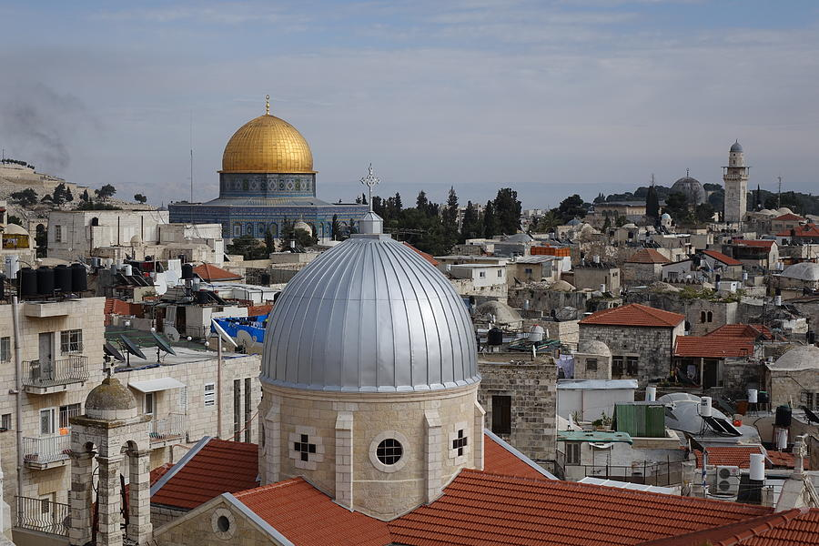 Dueling Faith in Jerusalem by Rita Adams