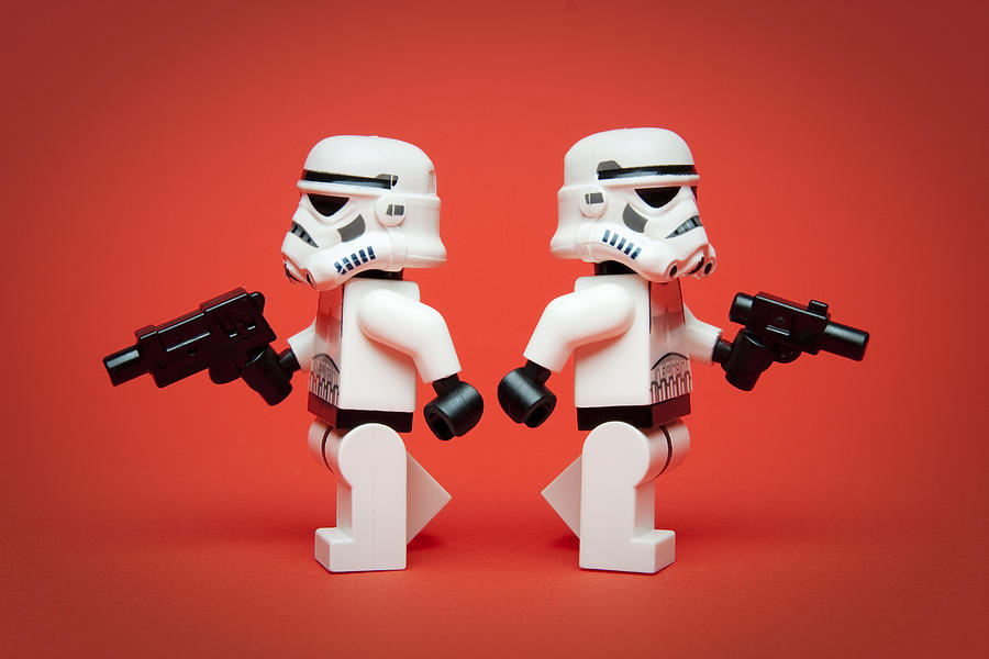Dueling Troopers Photograph