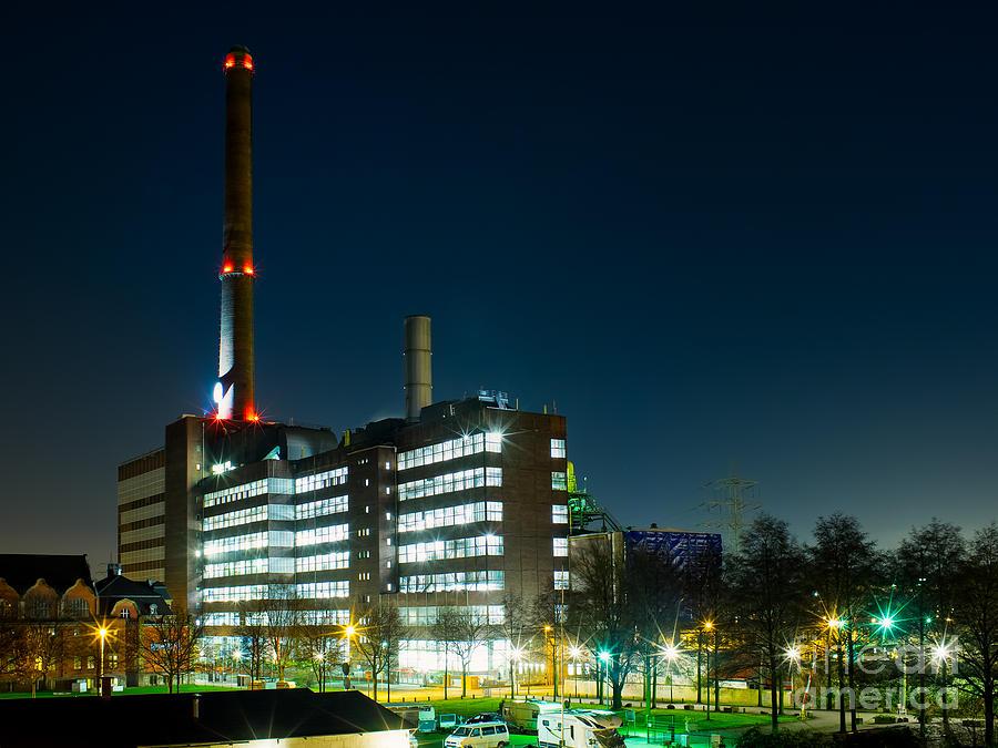 Duisburg Thyssen Krupp Factory Apostel Street Photograph