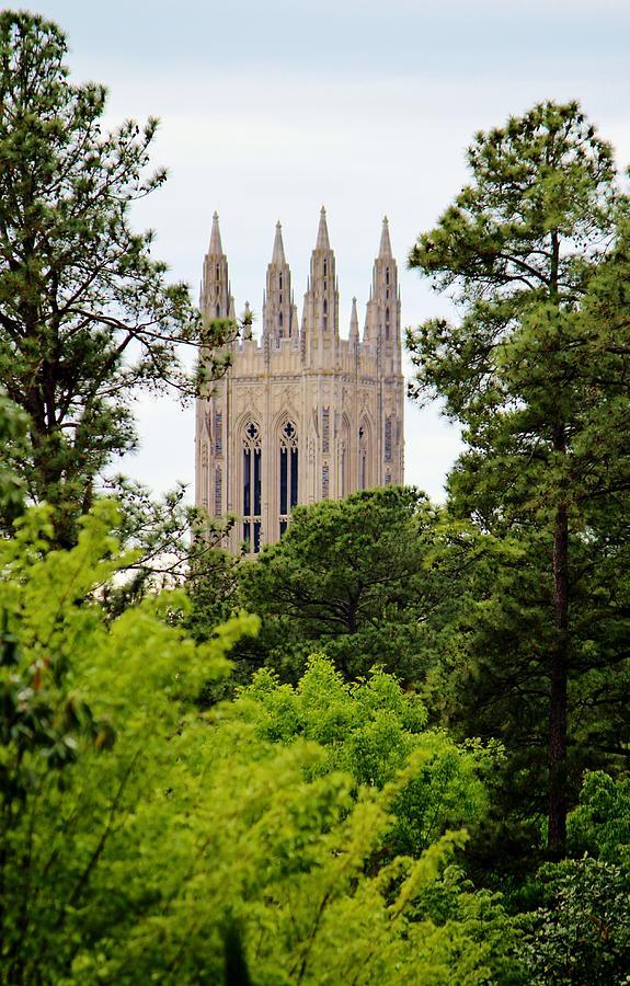 Duke Photograph - Duke Chapel by Cynthia Guinn