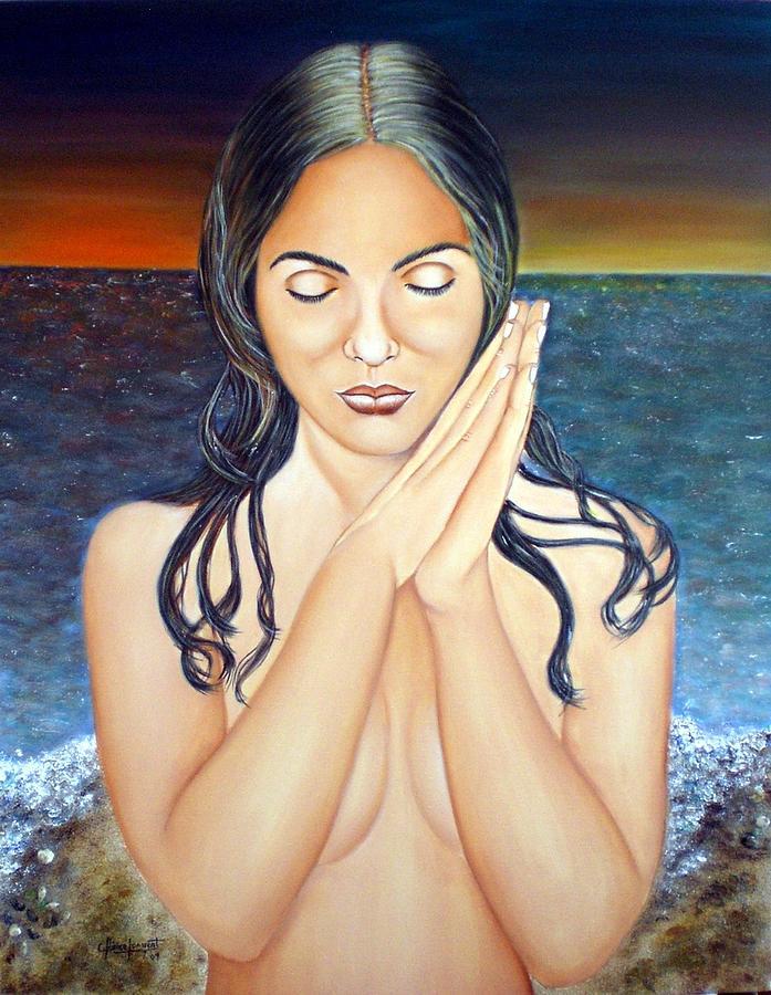 Pintura Painting - Dulces Pensamientos by Carmen Junyent