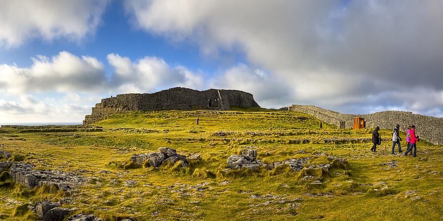 Galway Photograph - Dun Aengus - Ancient Irish History by Mark E Tisdale