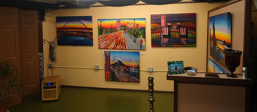 Dunbars City Lights Series Photograph by Portland Art Creations