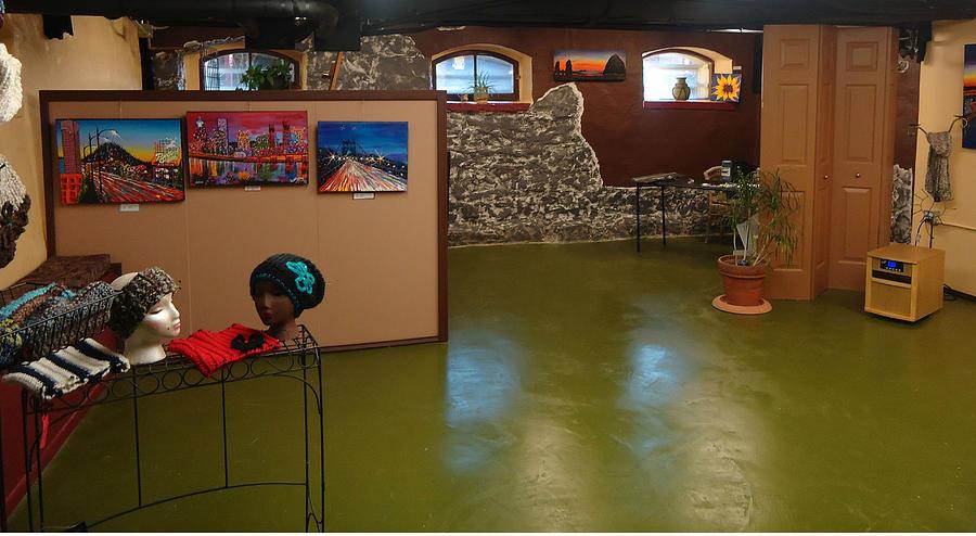 Photograph - Dunbars New Tuscan Style Art Studio by Portland Art Creations