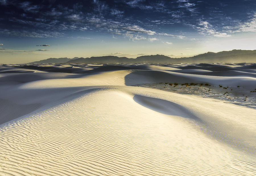 New Mexico Photograph - Dune by Christian Skilbeck