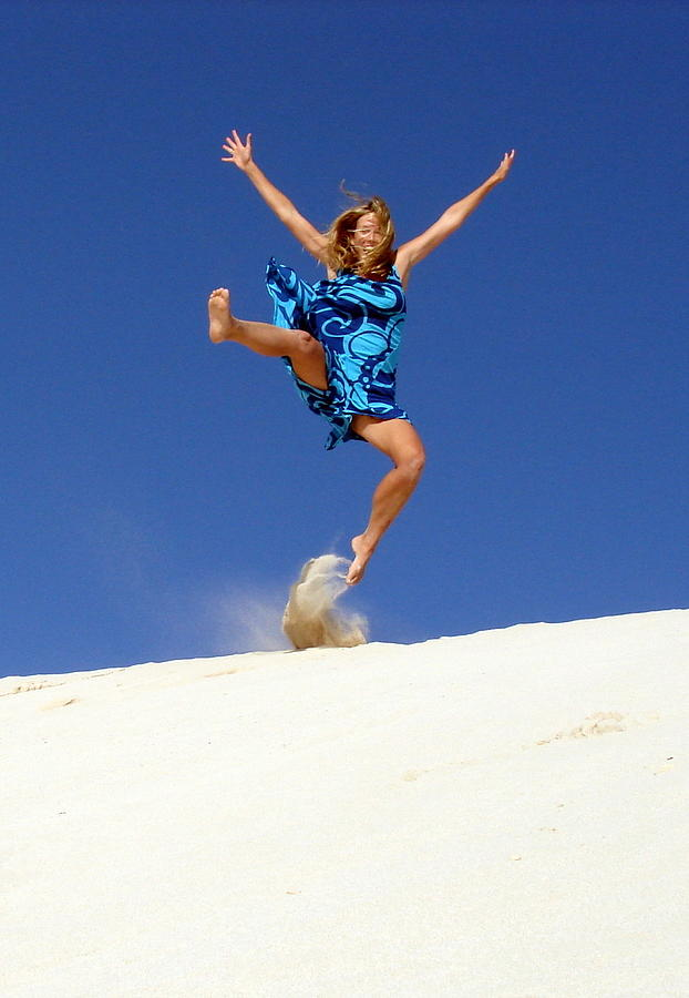 Sand Dune Photograph - Dune Dance by Ramona Johnston