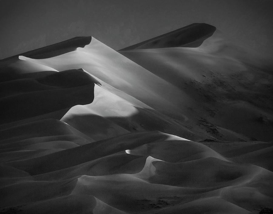 Dune Shadows Photograph by C. Fredrickson Photography