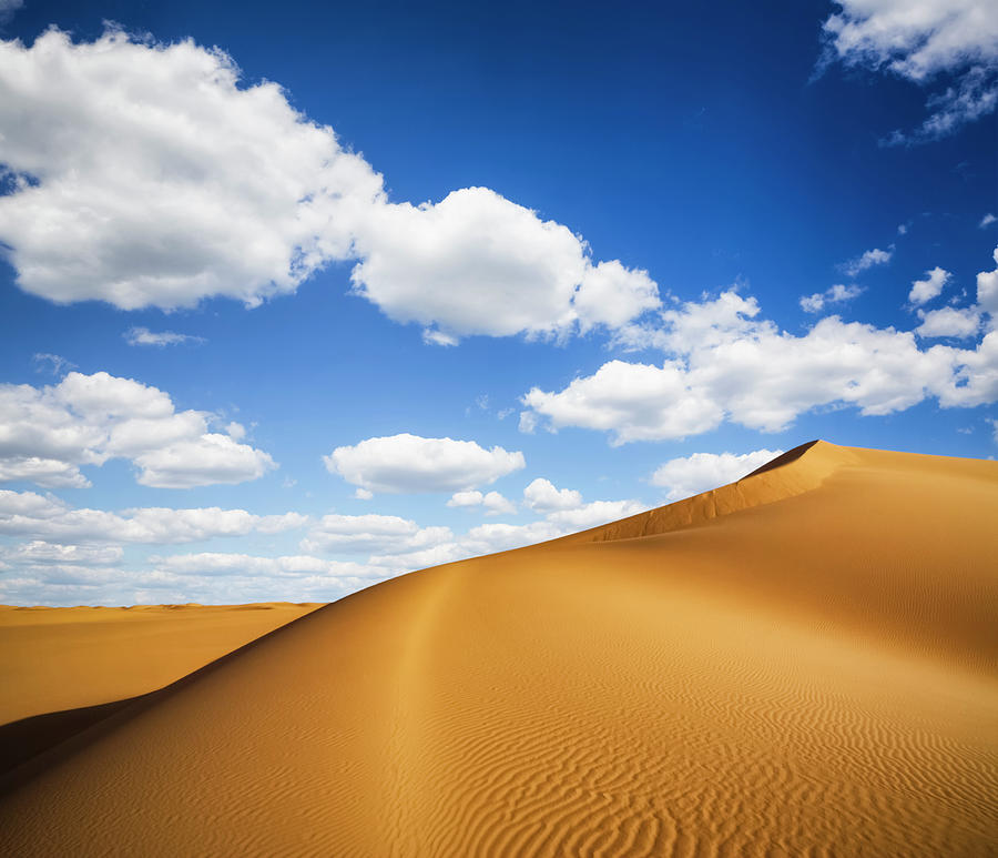 Dunes Of Cloudscape Photograph by Cinoby