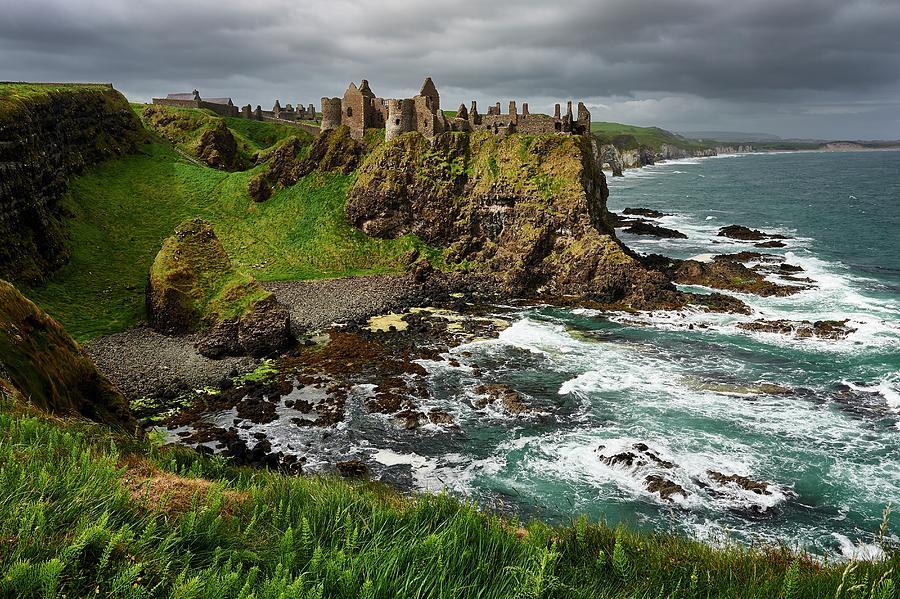 Dunluce Castle, Northern Ireland Photograph by Andrea Pistolesi