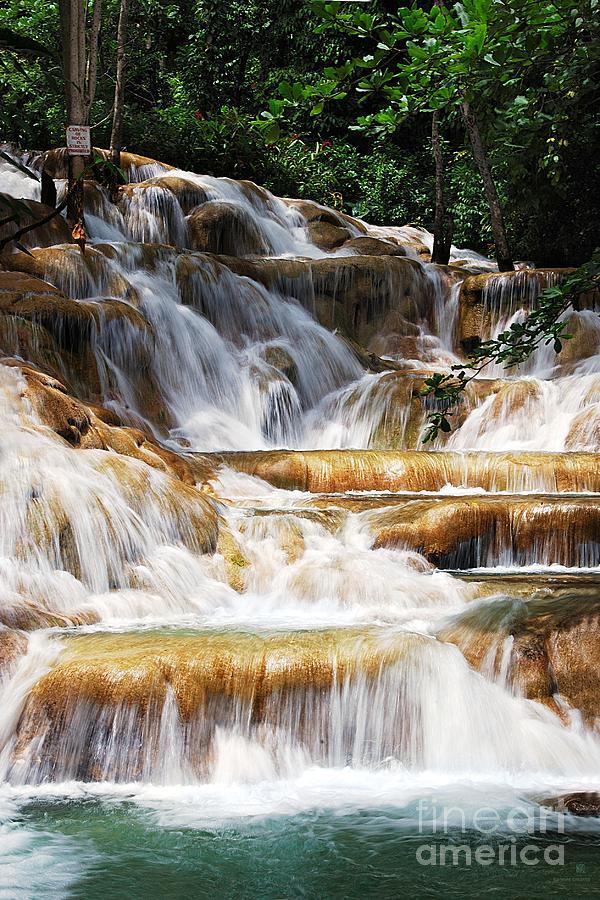 Waterfall Photograph - Dunn Falls by Hannes Cmarits