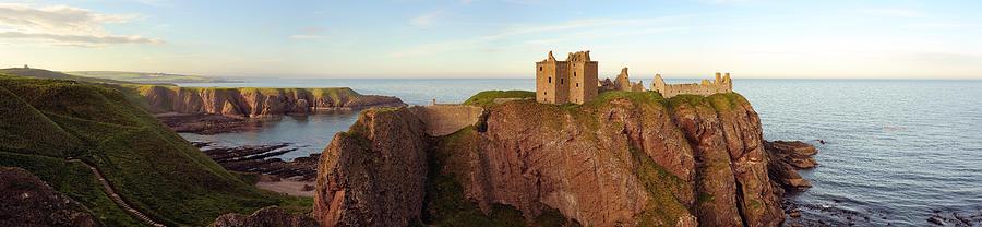 Castle Photograph - Dunnottar Castle by Grant Glendinning