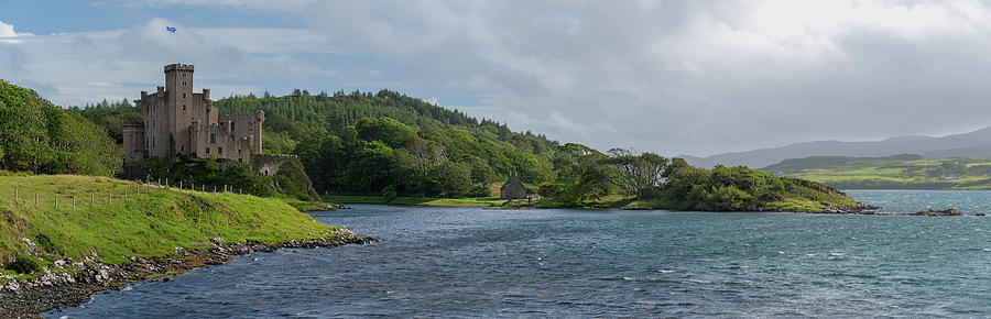 Dunvegan Castle Panorama Photograph by Peter Luxem