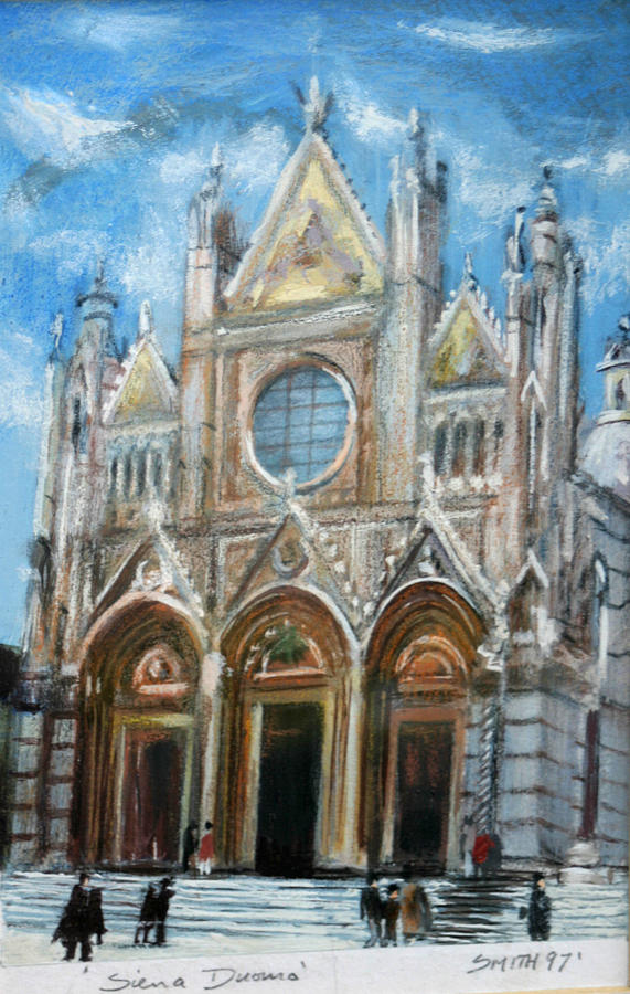 Duomo Sienna Painting by Tom Smith