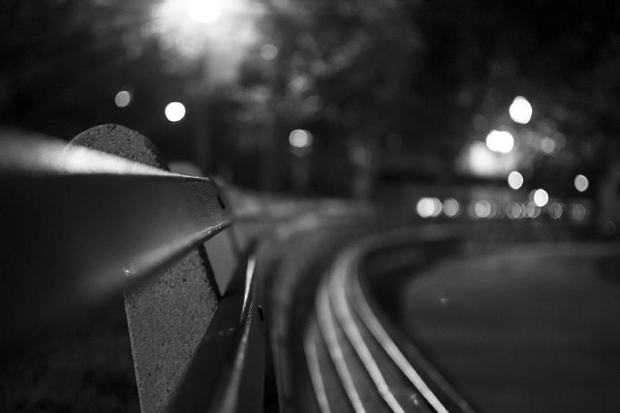 Bench Photograph - Dupont Circle Circle Bench by Michael Williams