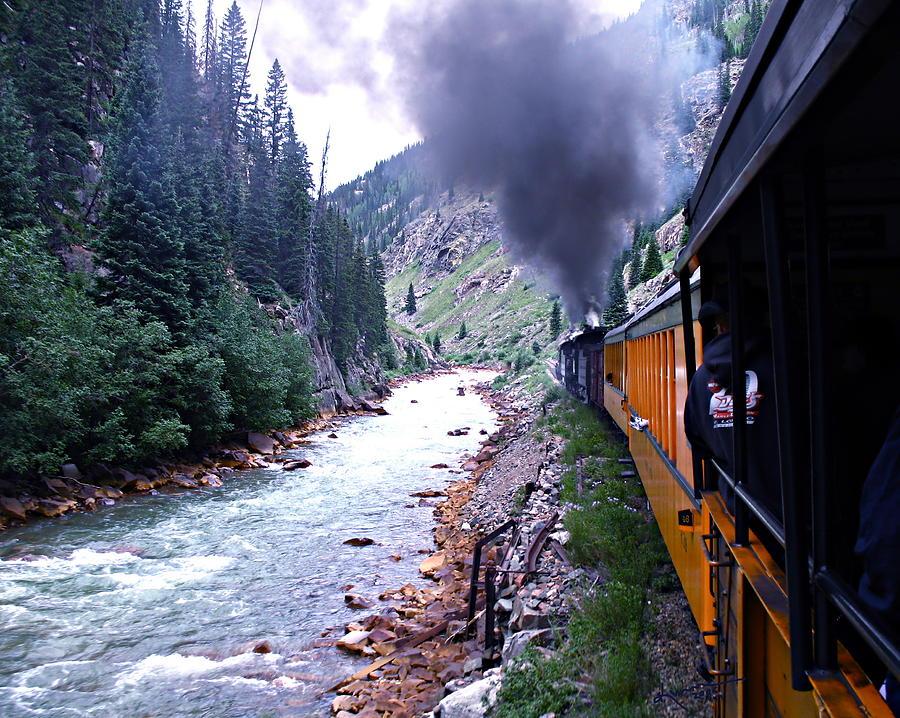 Train Photograph - Durango To Silverton by Kume Bryant