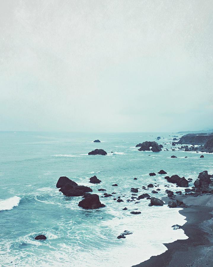 Beach Photograph - Dusk At The Sea by Lupen  Grainne