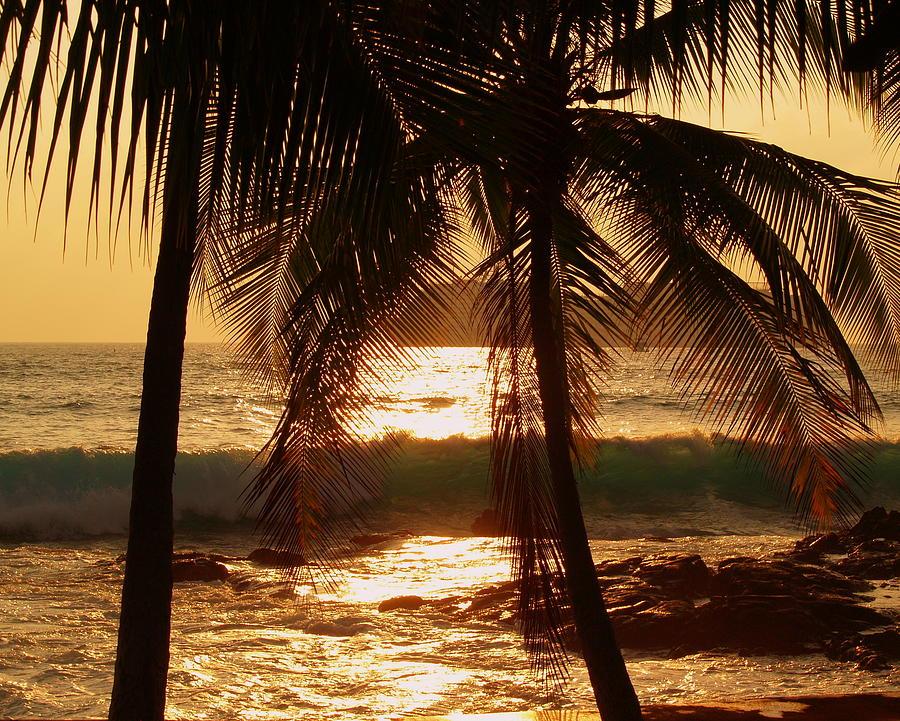 Hawaiian Photograph - Dusk by Athala Carole Bruckner