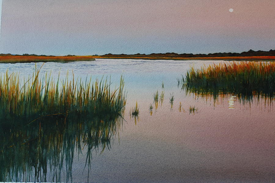 Dusk Painting by Brenda Beck Fisher