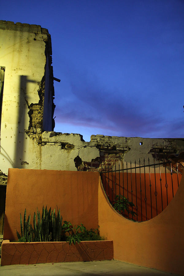 Dusk Photograph - Dusk In San Ignacio by Linda Queally