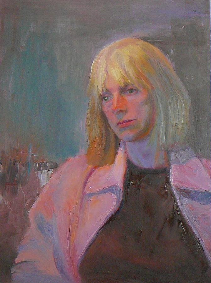 Portrait Painting - Dusk by Irena  Jablonski