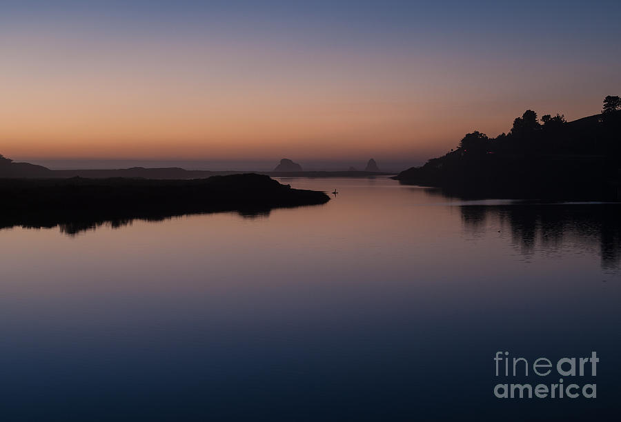 Sonoma County Photograph - Dusk On Russian River  2.2753 by Stephen Parker