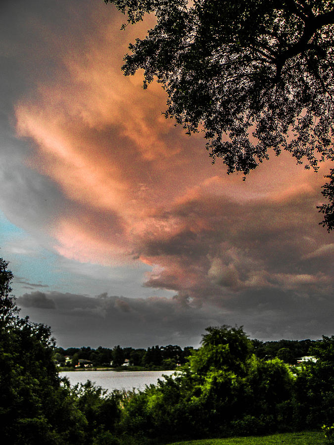 Storm Photograph - Dusk Storm  by Christy Usilton
