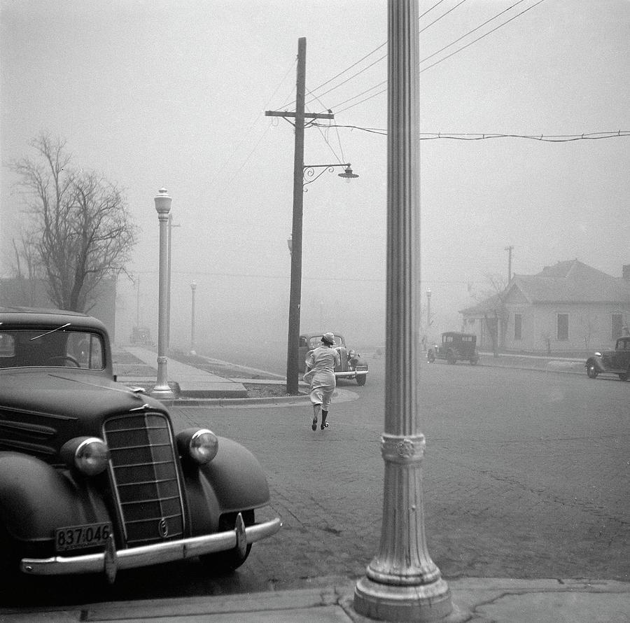 1936 Photograph - Dust Bowl, 1936 by Granger