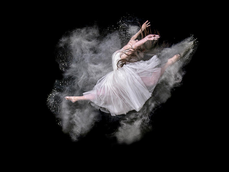 Powder Photograph - Dust Dancer by Pauline Pentony Ma