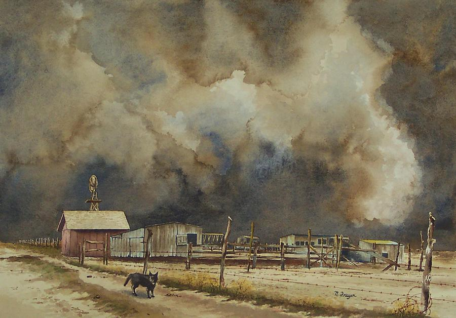 Dust Storm A-Comin' by Norman Freyer