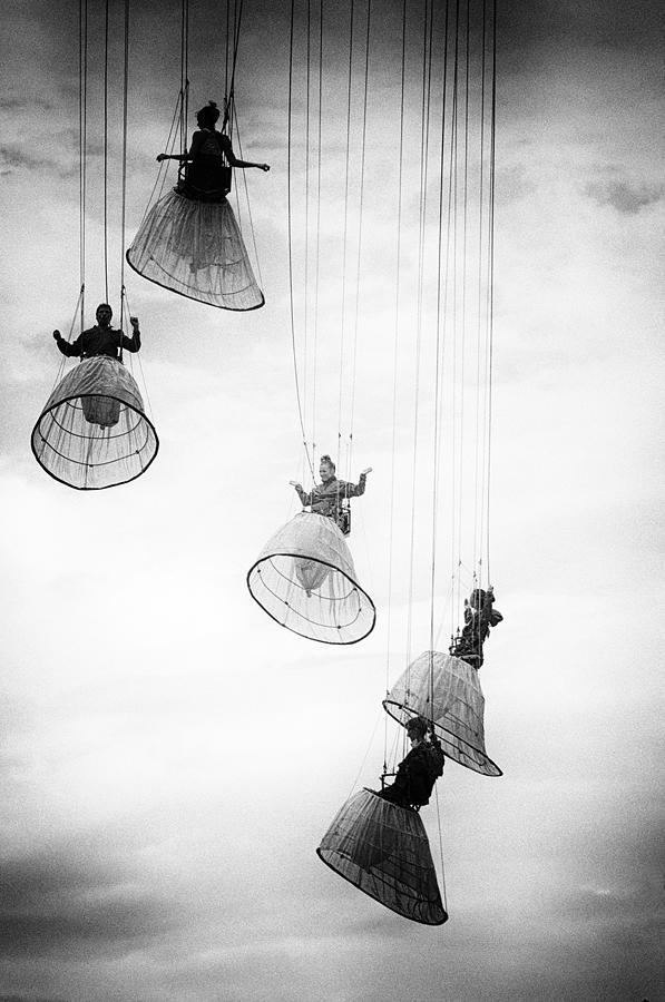 Conceptual Photograph - Dutch angels by Julien Oncete