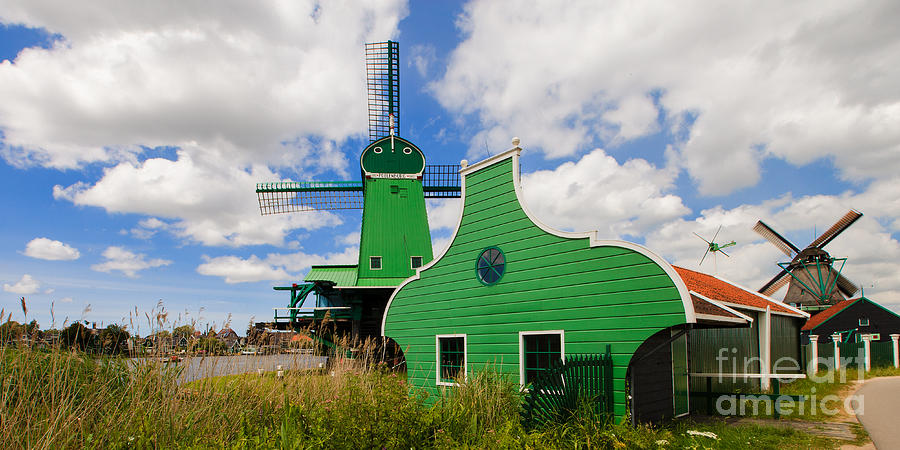 Windmill Photograph - Dutch Vibrance by Pete Reynolds