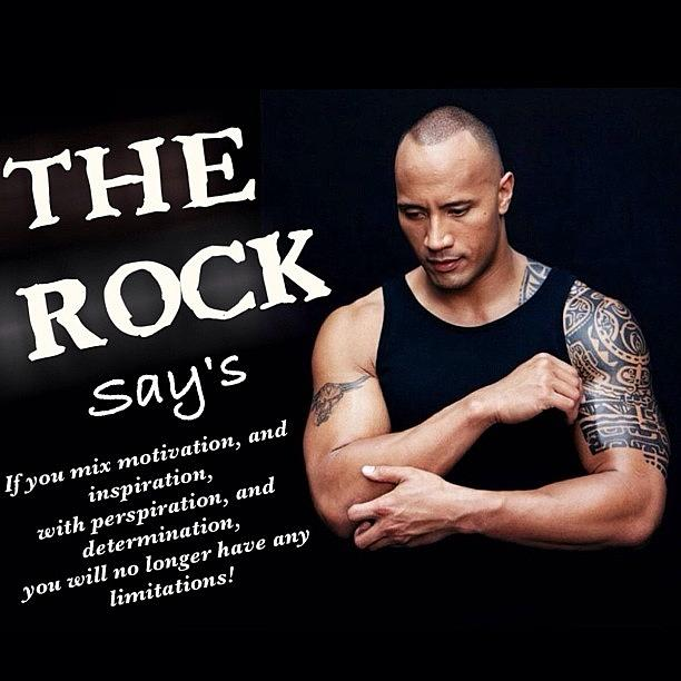 Comment Photograph - Dwayne the Rock Johnson says by Nigel Williams