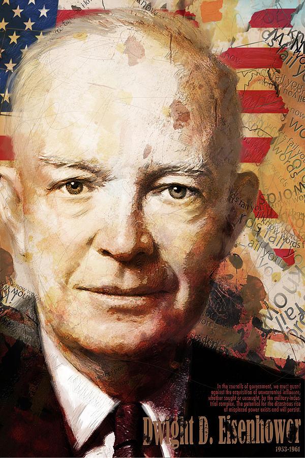 Dwight D. Eisenhower Painting