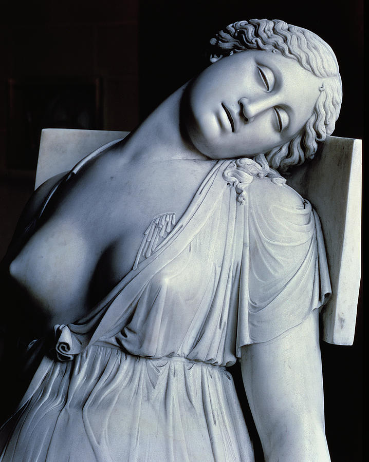 Dead Painting - Dying Lucretia  by Damian Buenaventura Campeny y Estrany