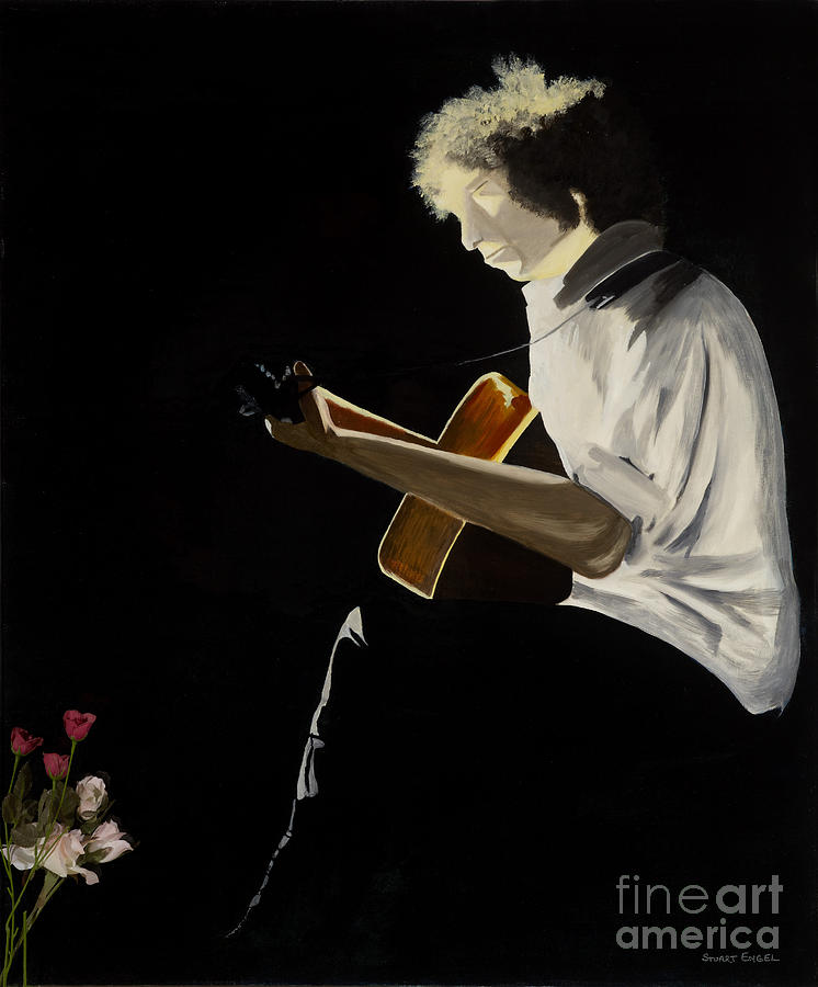 Bob Dylan Painting - Dylan by Stuart Engel