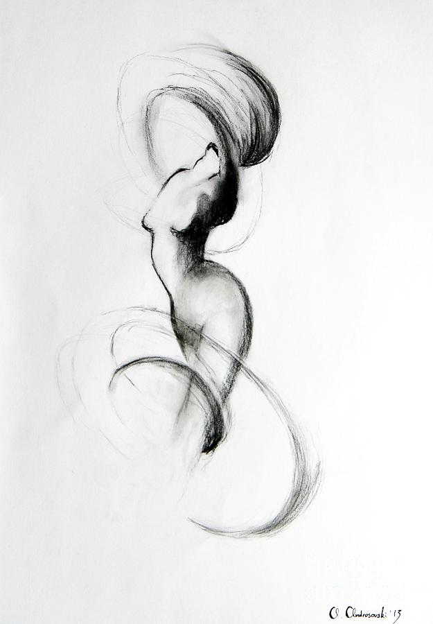 Drawing Painting - Dynamic by Anna Androsovski