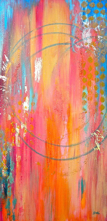 Dynamic Connection Painting - Dynamic Connection by Debi Starr